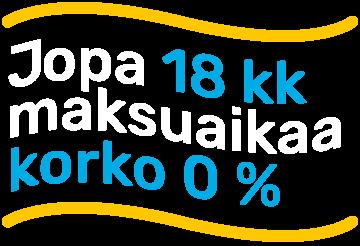 Hyvän Kaupan Paikka Financing interest 0%