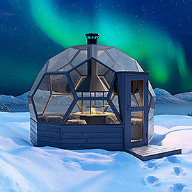 Arctic Light House -igloos