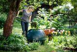 Trädgård och stuga komposterare 310l