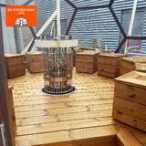 Sauna gig Arctic Light House inclus dans Big Brother 2019
