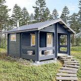 Cottage sur cour avec sauna 18,5 m2