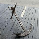 Antique anchor Medium size