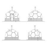 Façade Arctic Light House Ice Sauna 11 m2