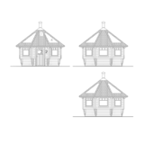 Arctic Luxustupa 10 m2 facades
