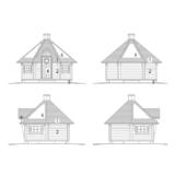 Grillhaus Arctic Deluxe + Fassaden mit zusätzlichen Vorteilen