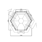 Gazebo 9 m2 floor plan