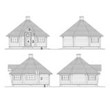 Kombikota 17 m2 facades