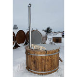 Hot tub 160 cm with internal heater