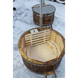 Hot tub 200 cm with internal heater