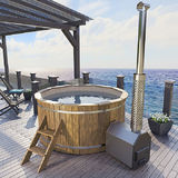 Hot tub 200 cm with external heater
