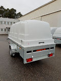 RESPO trailer with canopy 150 x 350
