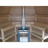 Sauna house Planed log 9 m2