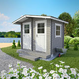 Storage outhouse