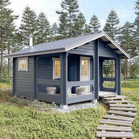 Hofhaus mit Sauna 18,5 m2